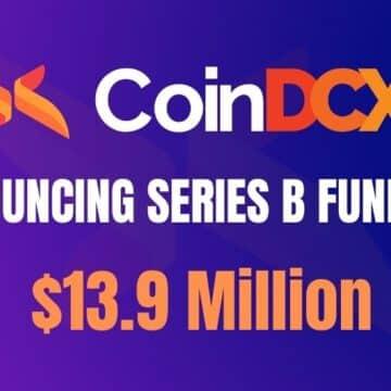 CoinDCX Raises INR 100 Crores in Series B Funding