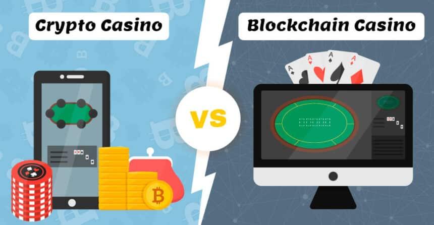 Crypto Casino vs. Blockchain Casino – What's the Difference?